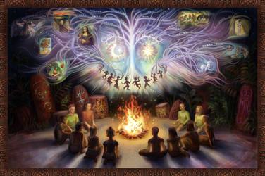 Magic visions of art