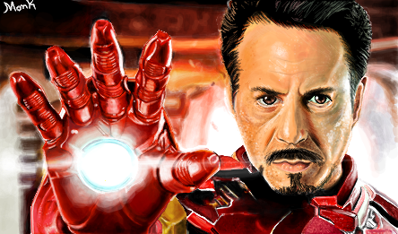 Iron man - feito no gartic by iagosv