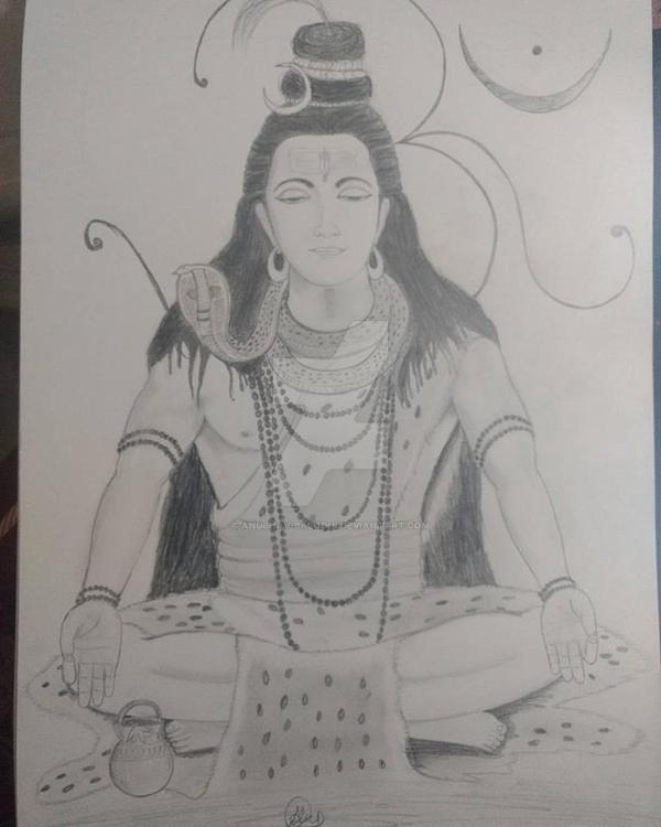 Shiv by Anubhav-Balodhi