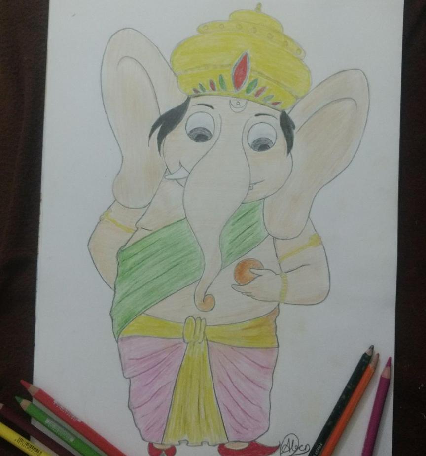 Ganesha by Anubhav-Balodhi