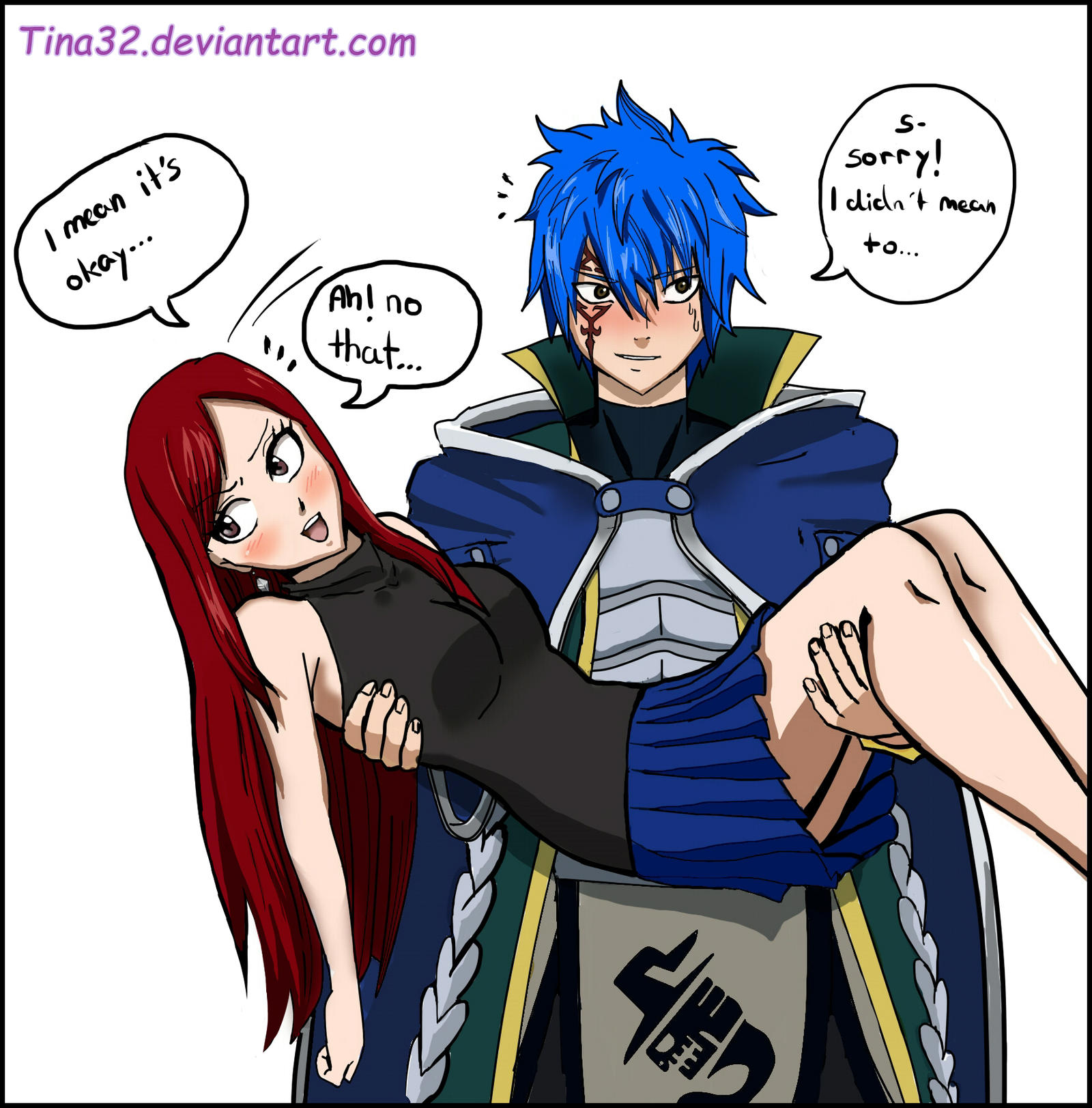 Erza And Jellal Family