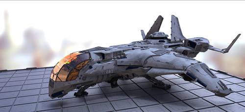 Vargas' ship by theGrubber