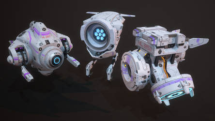 Healing drones