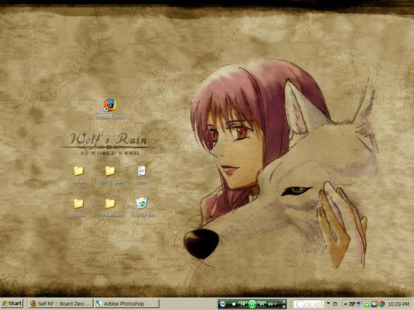 wolfs rain desktop