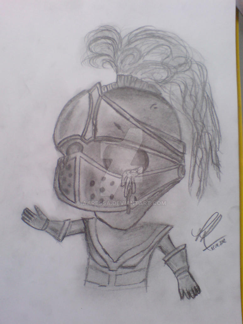 Quick drawing of Little Knight Amumu :3 by Aaressa on ...
