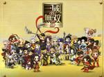 chibis in Dynasty Warrior 6