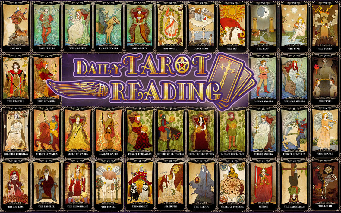 TAROT CARDS By CIWI By DYKC On DeviantArt