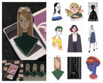 [OPEN] handmade pins with your character/ idea by sudarinabizaa