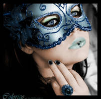 Lady with mask by Marthe92