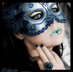 Lady with mask
