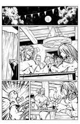 Red Sonja HS: Curse of the Wolf page 3 by tomgarcia