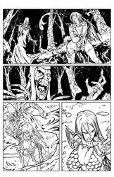 Red Sonja HS: Curse of the Wolf page 12 by tomgarcia