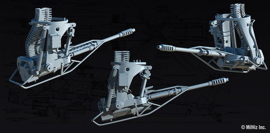 Apache - M230 Chain Gun by stretch186