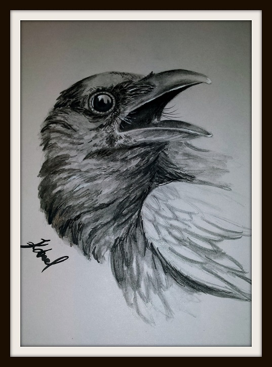 The Crow by LittleJan