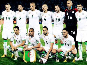 Algeria National soccer team by mohshinobi