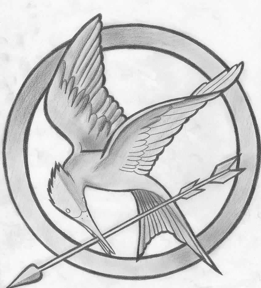 The hunger games symbol by findmeinthevalley on deviantart the hunger games symbol by findmeinthevalley biocorpaavc Choice Image