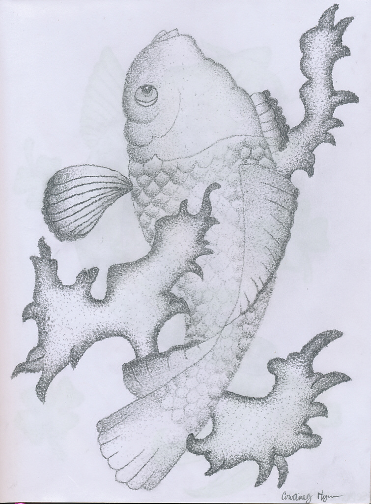 Black and white koi fish by findmeinthevalley on deviantart for Black and white koi fish