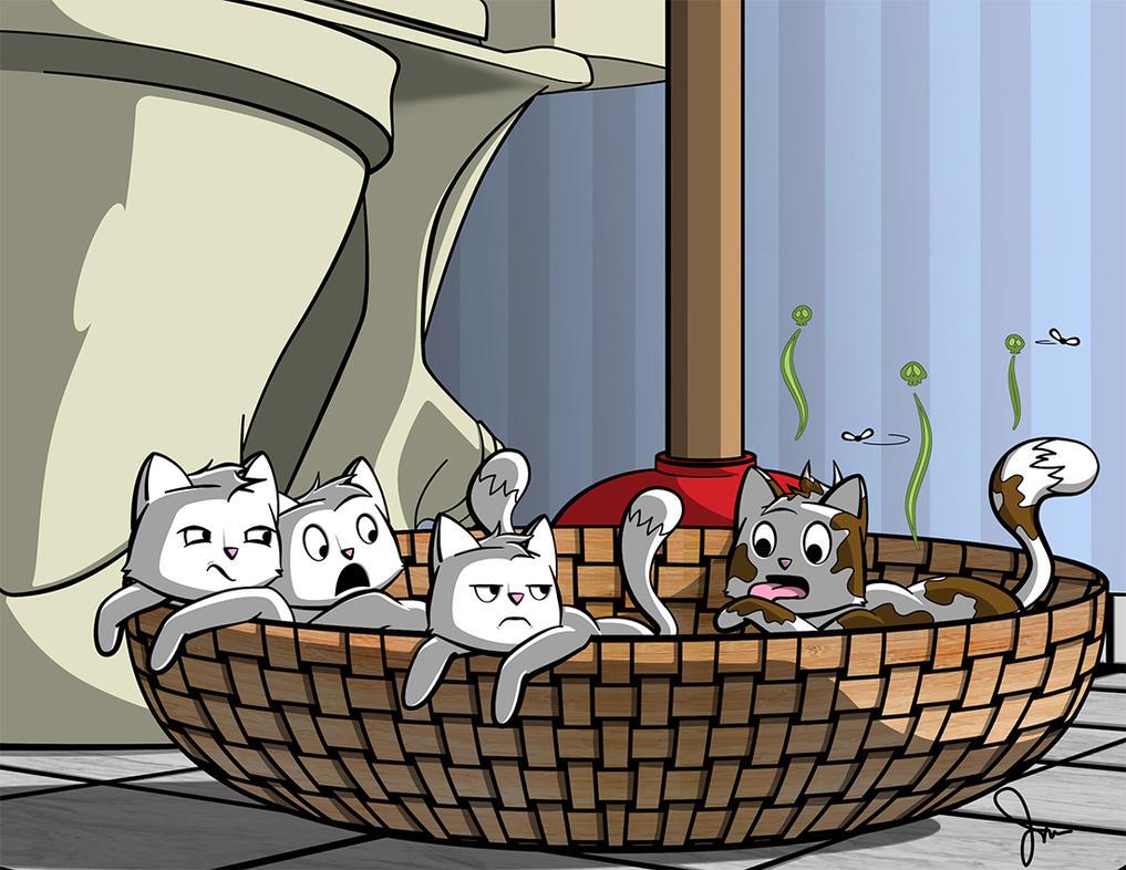Toilet Paper Kittens by jdmason