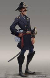 Brigadier General William Surgeon Sharpe by lawvalamp