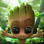 Baby groot by Joaslin
