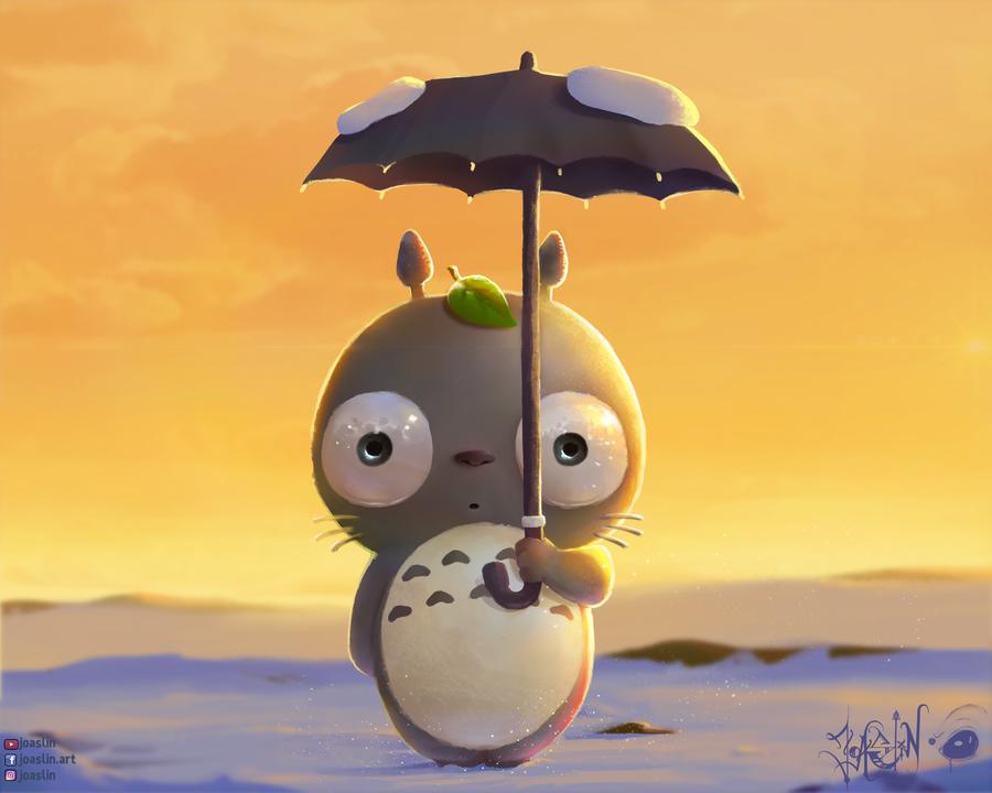 Totoro by JoAsLiN