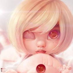 Pastel ASian Girl By Joaslin by JoAsLiN