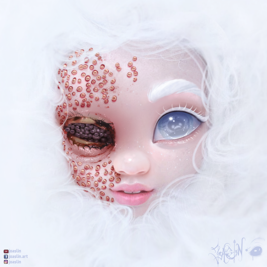 Trypophobia by JoAsLiN (Creepy Halloween Contest) by JoAsLiN