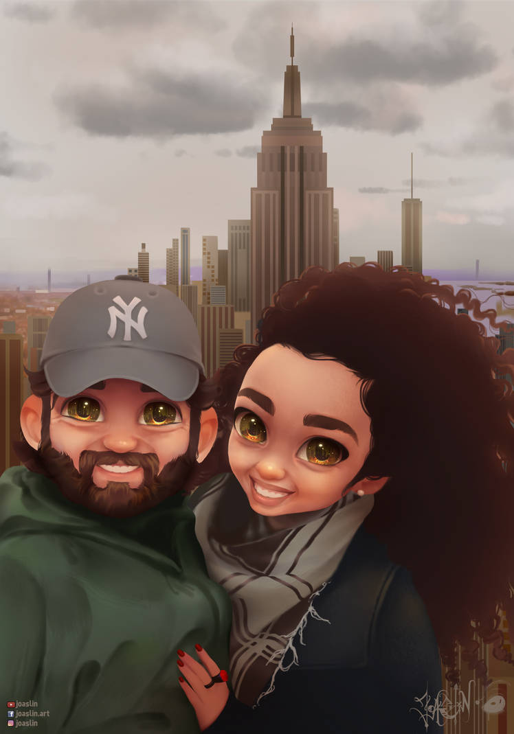 Selfie in NYC By Joaslin by JoAsLiN