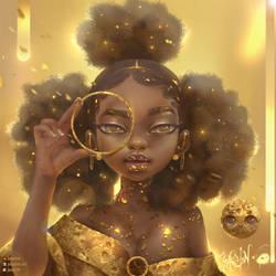 Gold again by Joaslin