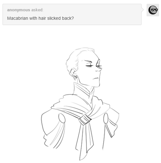 Slicked Back Hair Macabrian By Lotolle On Deviantart
