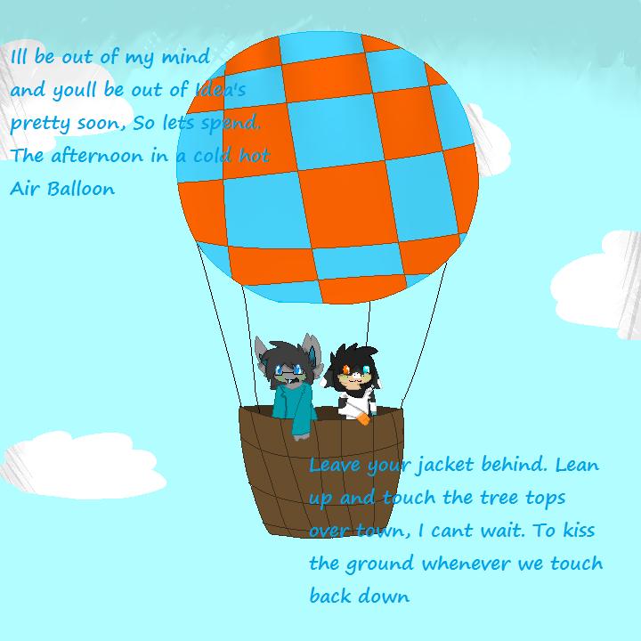 Hot air balloon by Ghosts-N-Stuffs