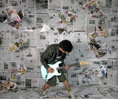 ROCK by blue-bullet