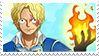 One Piece Sabo Stamp by xEllaSh