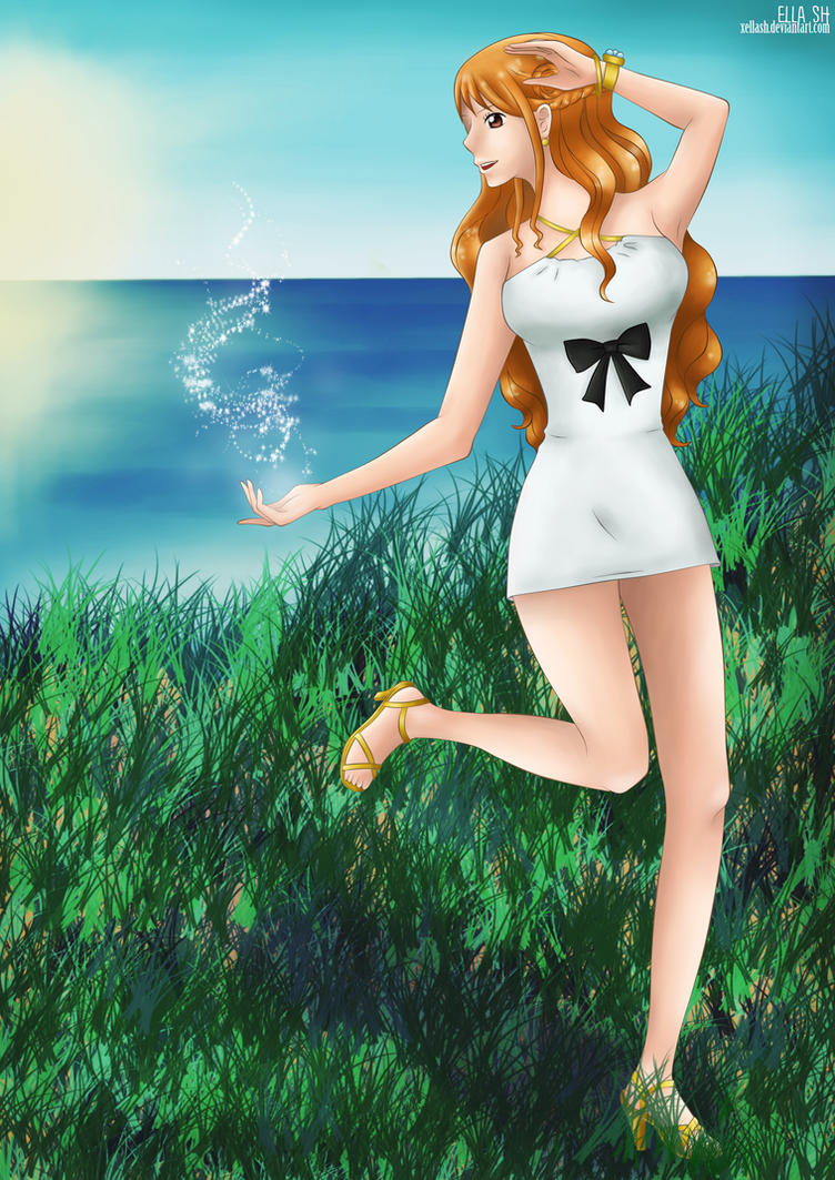 One Piece Gold - Nami by xEllaSh