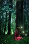 A Tree's Secret by Amarie-Veneanar