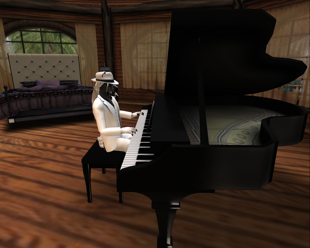 the piano man. by timberfox15