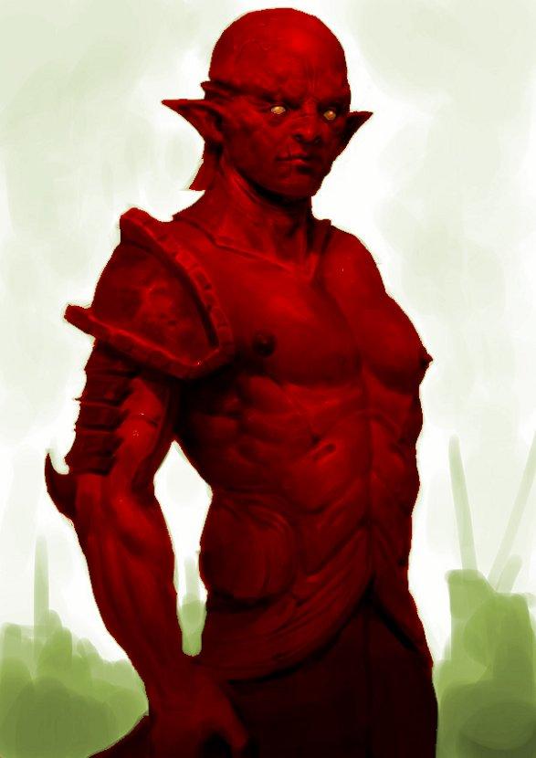 Elfo de la Sangre Resplandeciente por Keun-Chul, modificado por Jakeukalane