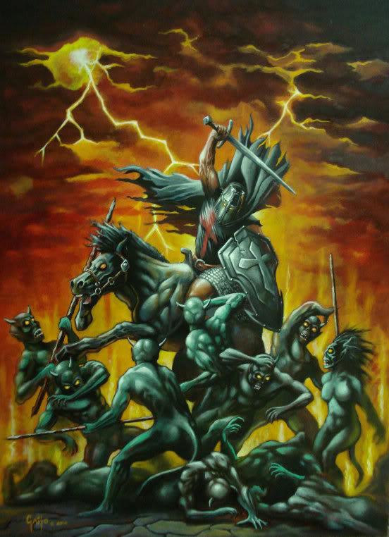 Los Caballeros del Mal de Tychi por Robert Gaito