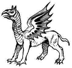 opinicus-dragón