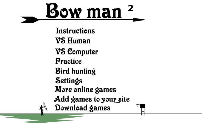¡¡Jugar al Arquero!! Bowman 2