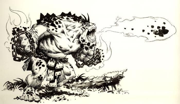 Troll de Fuego; Desplegando sus poderes