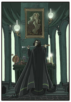 Snape and Dumbledore -HP7-