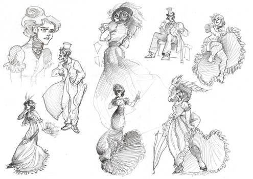 Bunch of Victorian Sketches