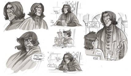 Snape and Harry Potter Medley