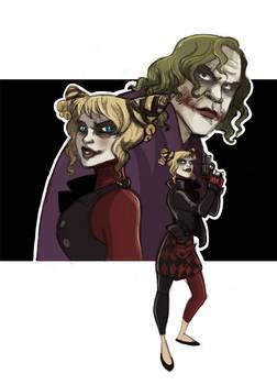 The Joker and Harley -TDK-