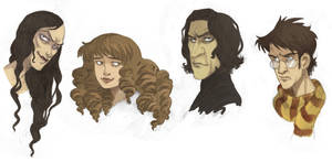 'Harry Potter' Portraits