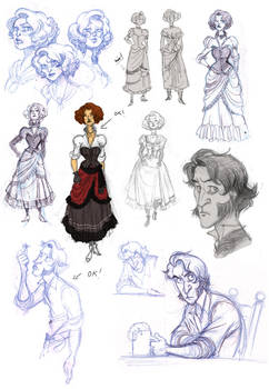 Sketches for Clues