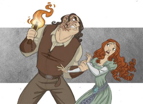Sansa and Sandor by kyla79 on DeviantArt