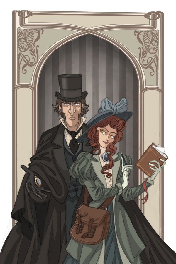 Emily and Hawkins -Clues- by kyla79