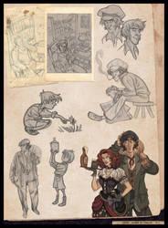 Sketchbook page 1 by kyla79